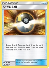 Ultra Ball, Pokemon, SM Base Set