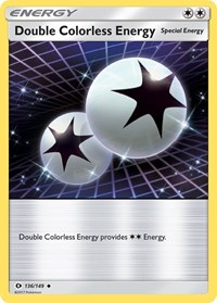 Double Colorless Energy, Pokemon, SM Base Set