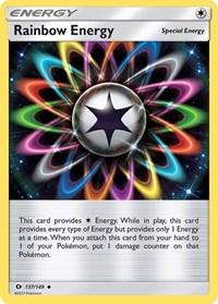 Rainbow Energy, Pokemon, SM Base Set