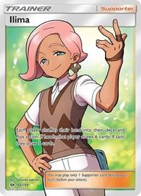 Ilima (Full Art), Pokemon, SM Base Set