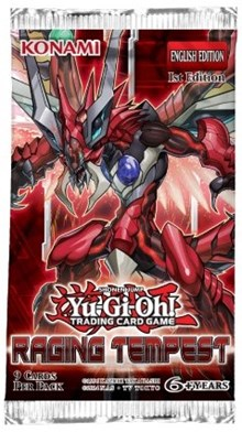 Raging Tempest Booster Pack, YuGiOh, Raging Tempest