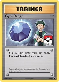 Gym Badge (Brock), Pokemon, XY Promos