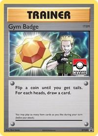 Gym Badge (Lt. Surge), Pokemon, XY Promos