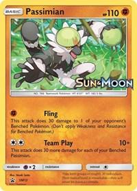 Passimian - SM12 Prerelease Promo, Pokemon, SM Promos