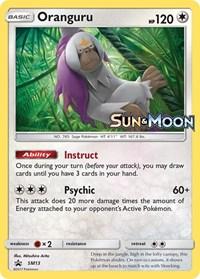 Oranguru - SM13 - Prerelease Promo, Pokemon, SM Promos