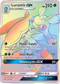 Lurantis GX (Secret), Pokemon, SM Base Set