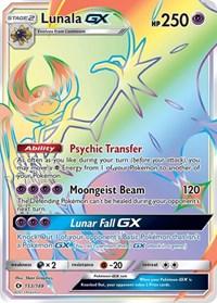 Lunala GX (Secret), Pokemon, SM Base Set