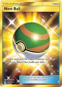 Nest Ball (Secret), Pokemon, SM Base Set