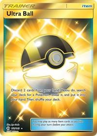Ultra Ball (Secret), Pokemon, SM Base Set