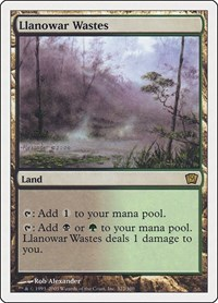 Llanowar Wastes, Magic: The Gathering, 9th Edition
