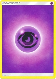 Psychic Energy (2017 Unnumbered), Pokemon, SM Base Set