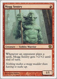 Mogg Sentry, Magic: The Gathering, 9th Edition