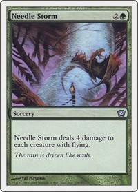 Needle Storm, Magic: The Gathering, 9th Edition