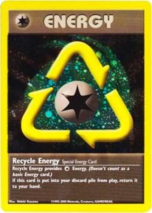 Recycle Energy (WotC 2002 League Promo), Pokemon, League & Championship Cards
