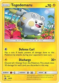 Togedemaru - SM09, Pokemon, SM Promos
