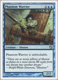 Phantom Warrior, Magic, 9th Edition