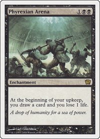 Phyrexian Arena, Magic: The Gathering, 9th Edition