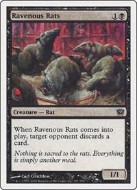 Ravenous Rats, Magic: The Gathering, 9th Edition