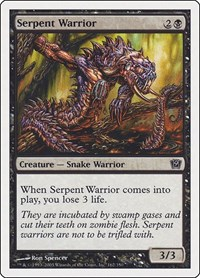 Serpent Warrior, Magic: The Gathering, 9th Edition