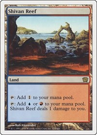 Shivan Reef, Magic: The Gathering, 9th Edition