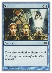 Sift, Magic: The Gathering, 9th Edition