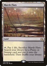 Marsh Flats, Magic: The Gathering, Modern Masters 2017
