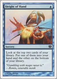Sleight of Hand, Magic: The Gathering, 9th Edition