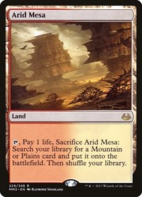 Arid Mesa, Magic: The Gathering, Modern Masters 2017