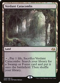 Verdant Catacombs, Magic, Modern Masters 2017