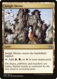 Jungle Shrine, Magic: The Gathering, Modern Masters 2017