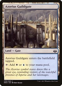 Azorius Guildgate, Magic: The Gathering, Modern Masters 2017