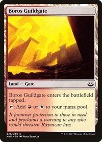 Boros Guildgate, Magic: The Gathering, Modern Masters 2017