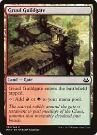 Gruul Guildgate, Magic: The Gathering, Modern Masters 2017