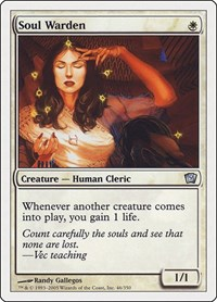 Soul Warden, Magic: The Gathering, 9th Edition