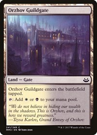 Orzhov Guildgate, Magic: The Gathering, Modern Masters 2017