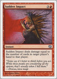 Sudden Impact, Magic: The Gathering, 9th Edition