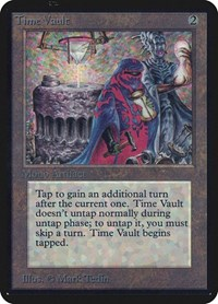 Time Vault, Magic: The Gathering, Alpha Edition