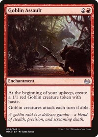 Goblin Assault, Magic, Modern Masters 2017