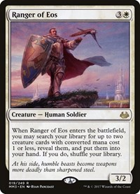 Ranger of Eos, Magic: The Gathering, Modern Masters 2017