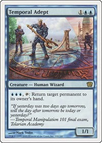 Temporal Adept, Magic: The Gathering, 9th Edition