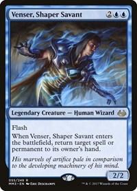 Venser, Shaper Savant, Magic: The Gathering, Modern Masters 2017