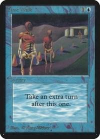 Time Walk, Magic: The Gathering, Alpha Edition