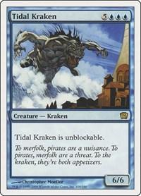 Tidal Kraken, Magic: The Gathering, 9th Edition