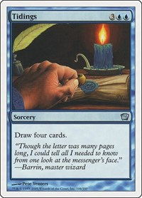 Tidings, Magic: The Gathering, 9th Edition