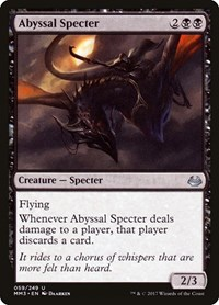 Abyssal Specter, Magic, Modern Masters 2017
