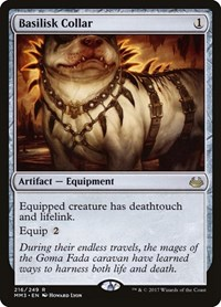Basilisk Collar, Magic: The Gathering, Modern Masters 2017