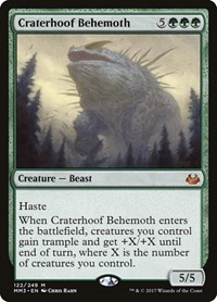 Craterhoof Behemoth (Foil)