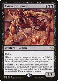 Extractor Demon, Magic: The Gathering, Modern Masters 2017