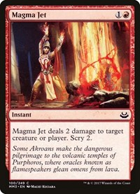 Magma Jet, Magic: The Gathering, Modern Masters 2017