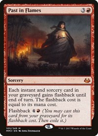 Past in Flames, Magic, Modern Masters 2017